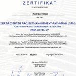 GPM-Zertifikat