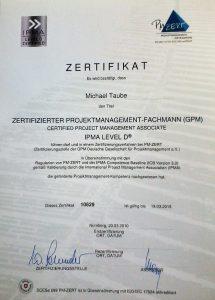 zertifikat projekt-kaufmann