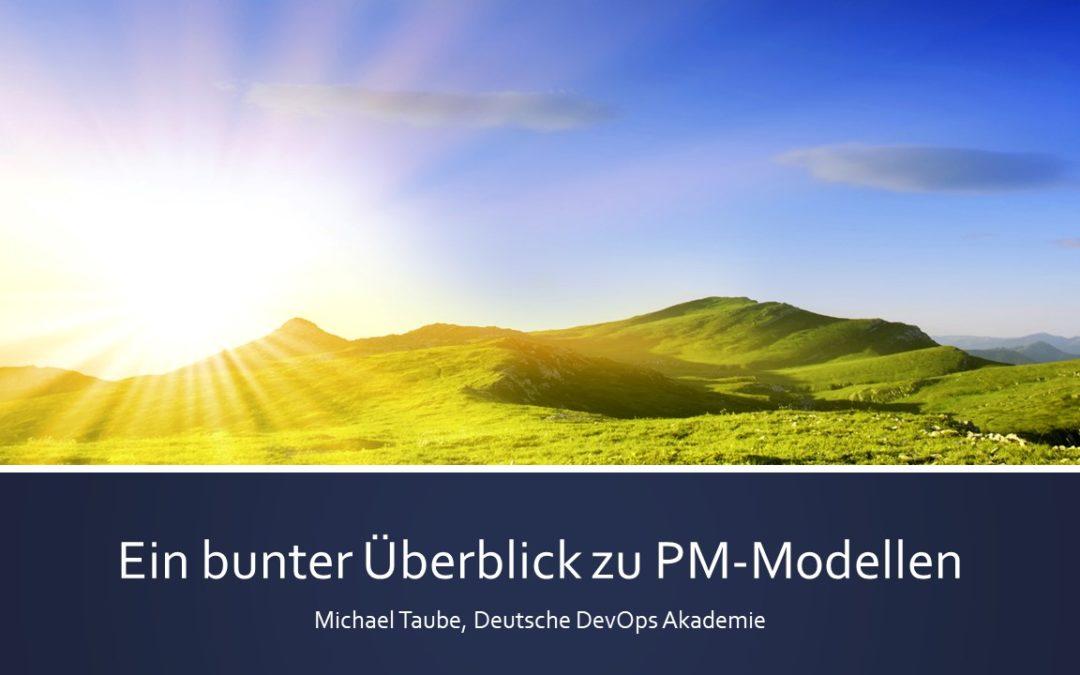 PM verstehen: Ein bunter Überblick zu PM-Modellen
