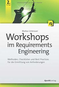 Buch Workshops im Requirements Engineering