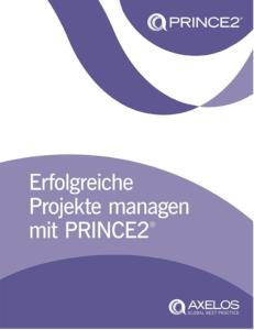 Buchcover - Erfolgreiche Projekte managen mit PRINCE2®