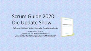 Scrum Guide 2020 Die Update Show 2